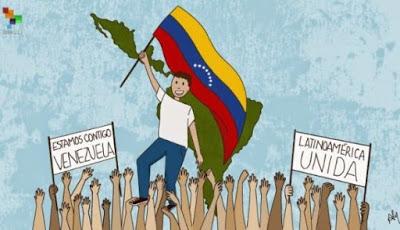 Izquierda de América Latina llama a la paz en Venezuela