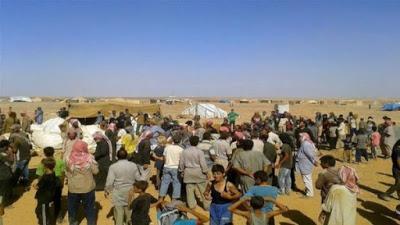 Logran refugiados retornar a territorio controlado por Siria