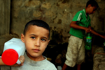 Palestinians will suffer the impacts of climate change more severely than Israelis due to the occupation