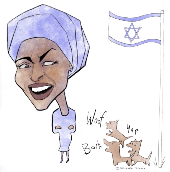 Ilhan Omar is charged with invoking 'myth of dual loyalty' — but many Jewish writers say it's no myth