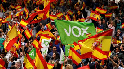 Spain is in danger of falling into the hands of the far right