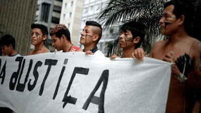 Indígenas brasileños inician movilización en pro de derechos