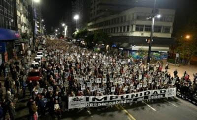 Familiares de víctimas de dictadura uruguaya apoyan cese de militares