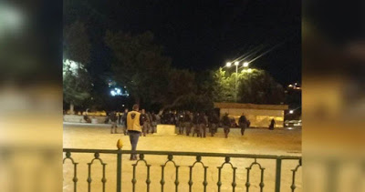 La police israélienne prend d'assaut la mosquée al-Aqsa et attaque les fidèles