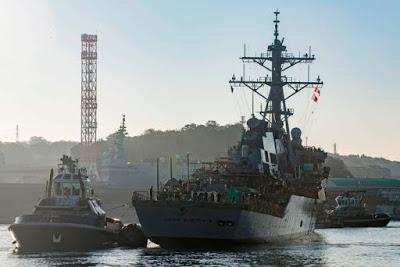 Comment tout a été fait pour cacher le « USS John McCain » à Donald Trump