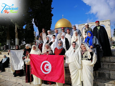 Tunisians protest travel agency organizing trips to Israel