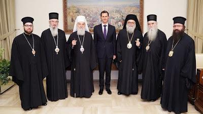 IL PONTE BALCANICO. Il patriarca ortodosso serbo in Siria rafforza i legami con Assad