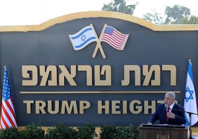 "ISRAELE. Netanyahu inaugura l'insediamento ""Alture di Trump"""