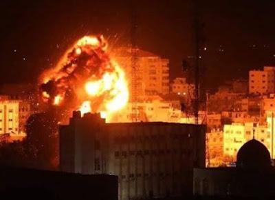 Cinq raids des terroristes israéliens sur la bande de Gaza