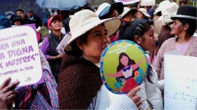 Bolivia activa 28 medidas de protección a mujeres, niños y niñas
