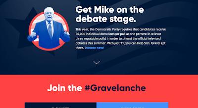 'Netanyahu sucks' — says Mike Gravel, Democratic presidential candidate