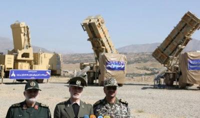 Irán presenta un nuevo sistema de defensa aérea