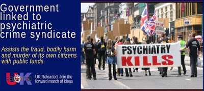 Government linked to psychiatric crime syndicate