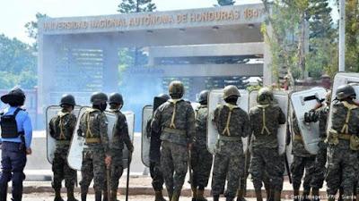 Organizaciones de DD.HH. rechazan represión a protestas en Honduras