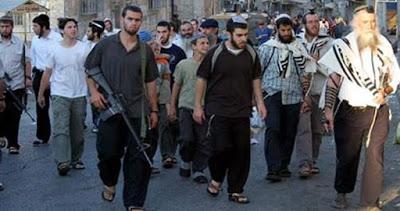 Des colons juifs attaquent des palestiniens dans la ville de Beit Ummar