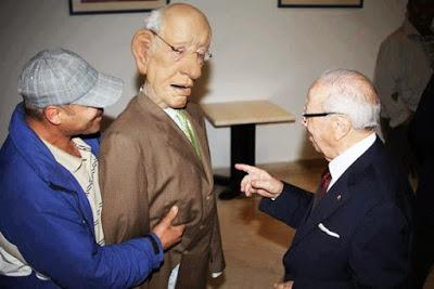 El último alcaide Béji Caïd Essebsi, un dinosaurio víctima del cambio climático