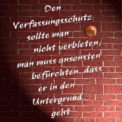 Agent secret, un métier d'avenir L'Office allemand pour la protection de la Constitution fait le bien en cachette