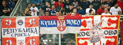 Angriffe durch Rechtsradikale Fans von Roter Stern Belgrad