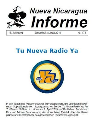 Nicaragua: El día cuando la oposición armada intentó matar a 21 periodistas en la quemada de la emisora sandinista Tu Nueva Radio Ya