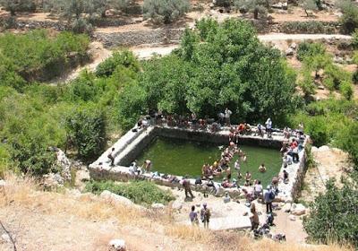 Una trágica excursión que no tiene nada que ver con el paisaje y la tierra, sino con el robo de agua por parte de los colonos judíos en Cisjordania