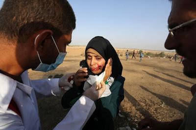 Encore des morts et des blessés parmi les manifestants à Gaza