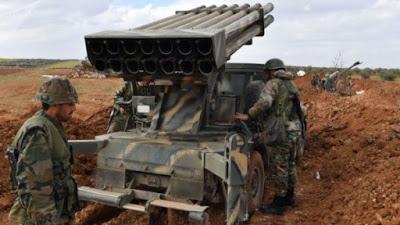 Ejército sirio cerca ciudad controlada por terroristas de Al Nusra