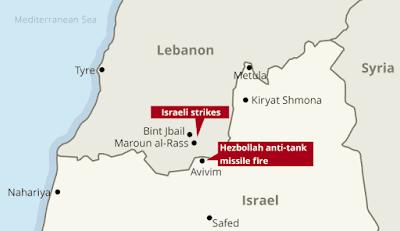 Le Hezbollah détruit un véhicule militaire israélien à la frontière, tous ses occupants sont tués ou blessés
