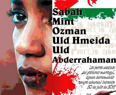 Sahara occidental ocupado: condenados a prisión 10 jóvenes por la manifestación del 19 de julio en El Aaiún