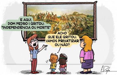 Brazil, 7 Sept. 1822: The independence of slaveholders