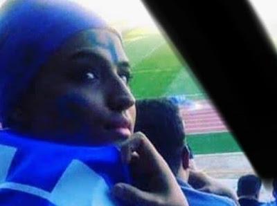 L'auto-immolation par le feu de Sahar Khodayari, supporteure de foot iranienne : les autorités n'ont pas tenu compte ses troubles mentaux