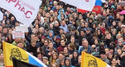 Manifestación en Moscú exige liberar a detenidos en protestas