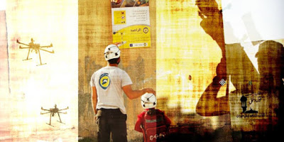 "The White Helmets, Hala Systems and the Grotesque Militarization of ""Humanitarianism"" in Syria"