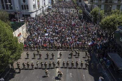Porre fine al nazi-liberismo ora. Chiamata alla mobilitazione dal Cile
