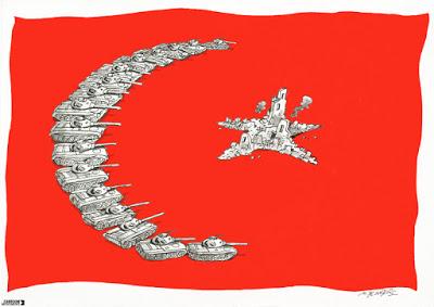 Turkish winter over Kurdistan