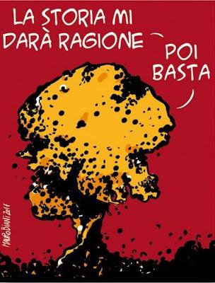 """""""L'atomica immorale e criminale"""": silenzio bipartisan sul papa"""