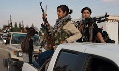 SIRIA/ROJAVA. 151 crimini turchi: bombe, saccheggi, rapimenti