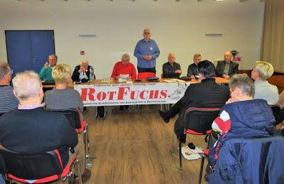 """""""We and the Russians"""": Egon Krenz in Rostock Report from the RedFox event on 25 January 2020"""