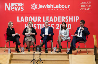 Candidates to replace Corbyn denounce him as anti-Semitic