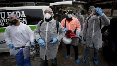 Coronavirus outbreak in the time of apartheid