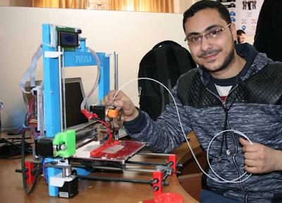 Azienda di Gaza utilizza la stampa 3D per combattere il coronavirus