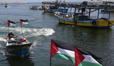 La marina di occupazione israeliana ha commesso 172 violazioni contro i pescatori palestinesi.