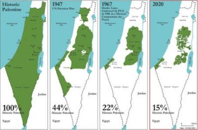 Su quale mappa Israele vuole ora firmare la pace?