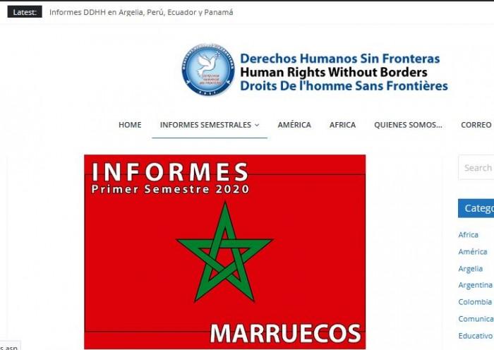 Le Maroc et le détournement du thème des droits humains : à propos d'un « rapport » infâme