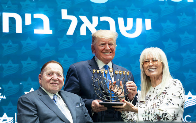 Miriam Adelson now leads Sheldon's pro-Israel empire