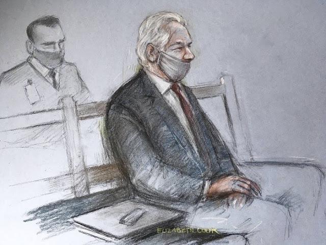 Julian Assange reste en prison Perfide Albion
