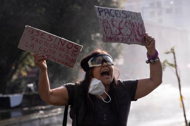 Protestas en Chile por la muerte de malabarista a manos de policía