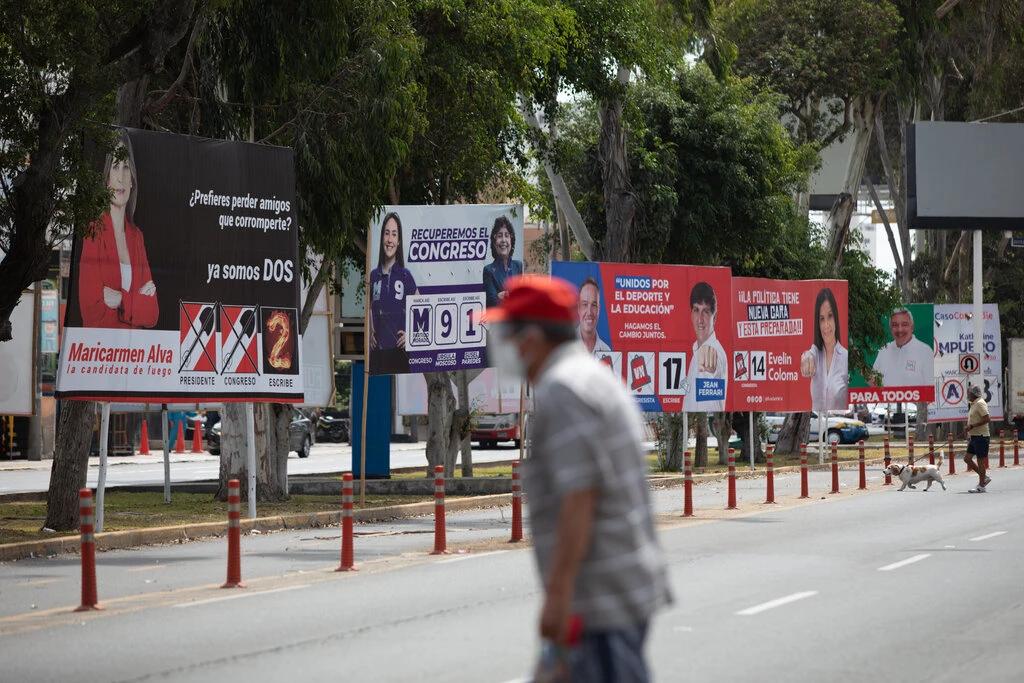 Elecciones en Perú: los votantes van a las urnas sin candidato favorito